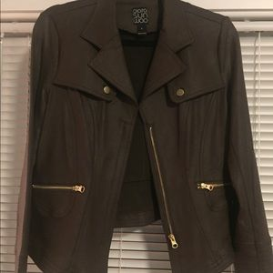 Clara Sun Woo Liquid Leather jacket Brand new